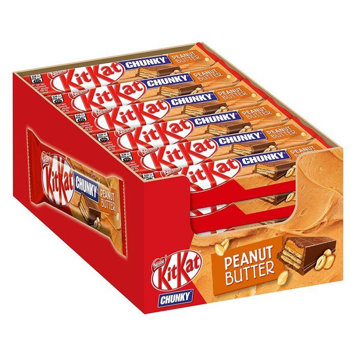 NESTLÉ KitKat Chunky Peanut Butter 24pcs.