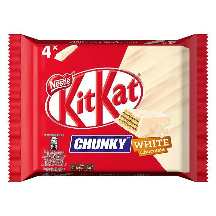 NESTLÉ KitKat Chunky 4er MP White (1 x 4 x 40g)