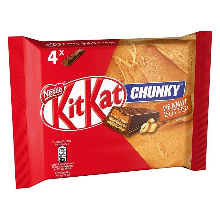 NESTLÉ KitKat Chunky 4er MP Peanut Butter (20 x 4 x 42g)